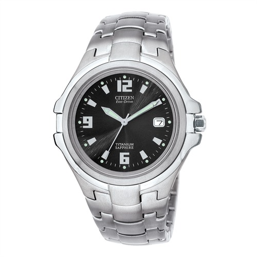 Citizen Super Titanium silber Herrenuhr BM1290-54F