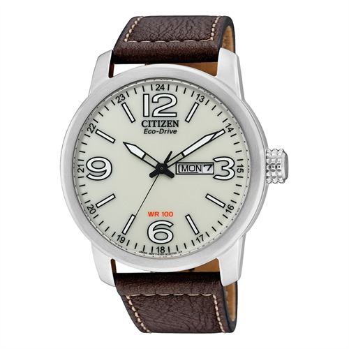 Citizen Herrenuhr Sports Leder braun BM8470-03AE