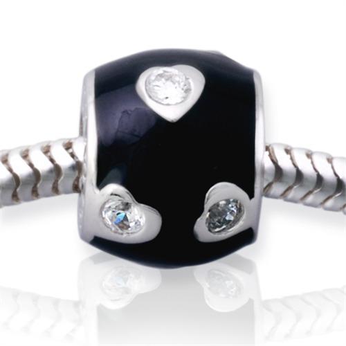 Gewindeloser Silber Bead für Ihr Sammelarmband
