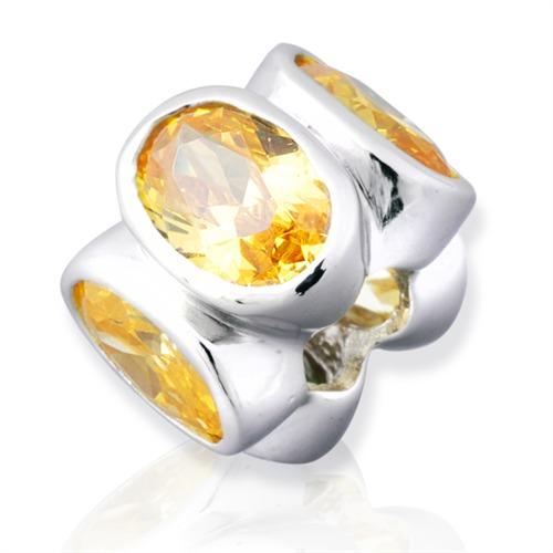 925 Silber Bead zum Sammeln und Kombinieren BO0082