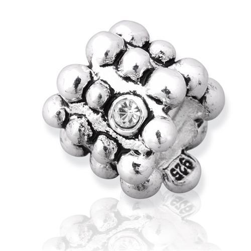 Silber Bead für Ihr individuelles Armband BS0061