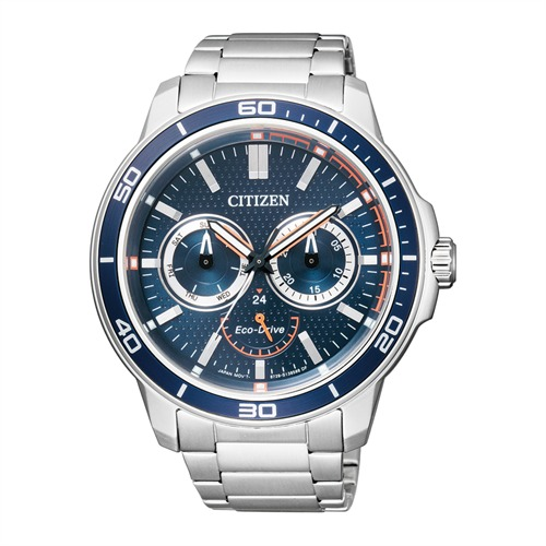 Citizen Sports Herrenuhr silber BU2040-56L