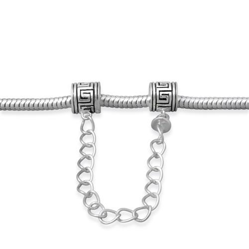 925 Silber Sicherungskette für Beads