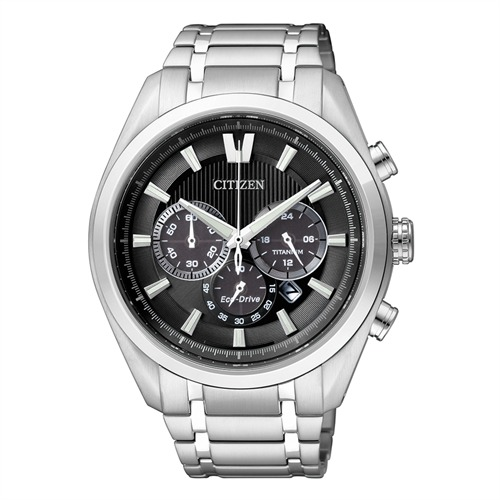 Citizen Super Titanium Chronograph silber CA4010-58E