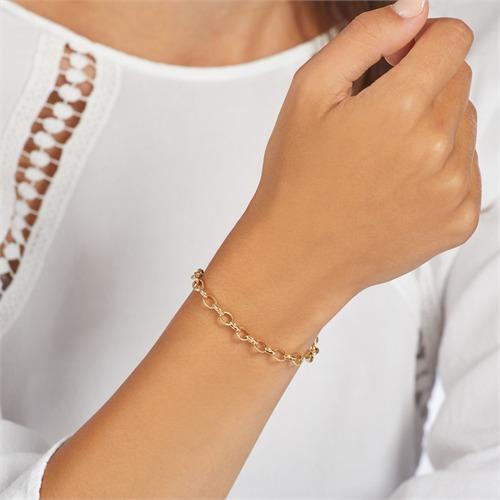 Charm Armband aus vergoldetem 925er Silber