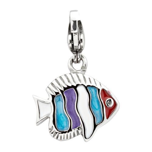 Edelstahl Fisch Charm zum Sammeln & Kombinieren...