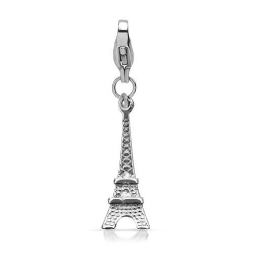 Edelstahl Charmanhänger Eiffelturm CS0103