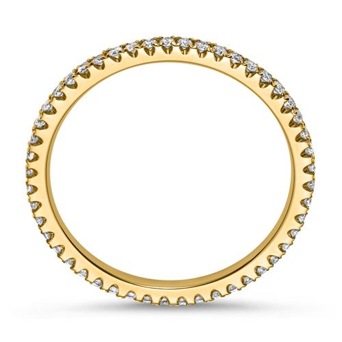 Eternityring Diamantring 750er Gelbgold