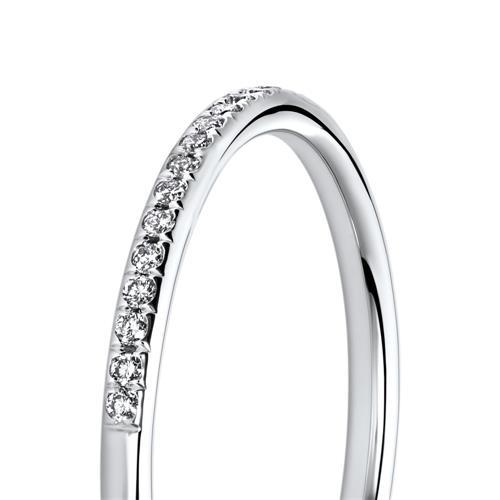 Diamantring aus 750er Weißgold Diamanten