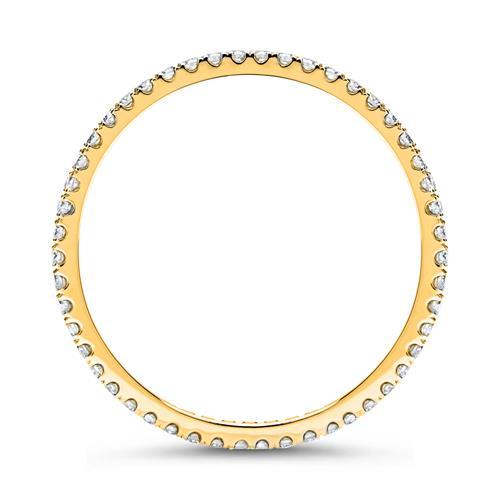 Eternity Ring 585er Gold 50 Diamanten