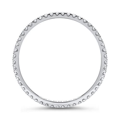 Eternity Ring 950er Platin 50 Diamanten