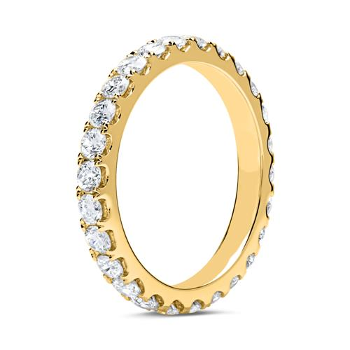 18 Karat Gold Eternity Ring 26 Brillanten