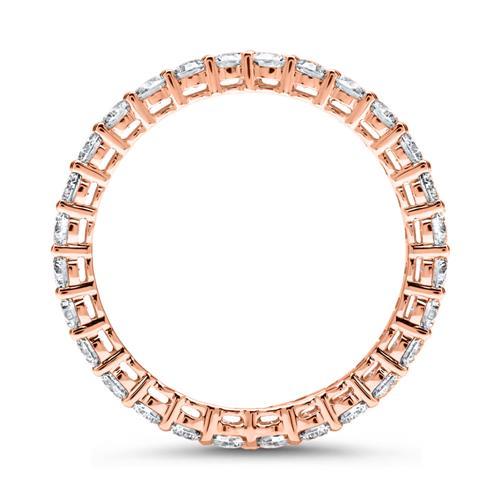 Eternity Ring 585er Roségold 28 Diamanten