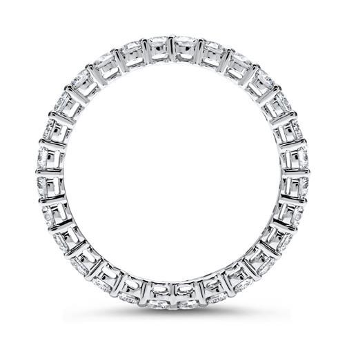 Eternity Ring 750er Weißgold 28 Diamanten
