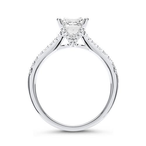 Diamant Ring 950er Platin