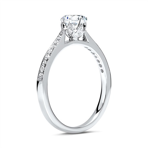 Ring 950er Platin für Diamanten
