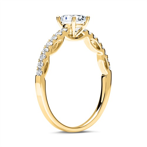 Ring 750er Gold mit Brillanten