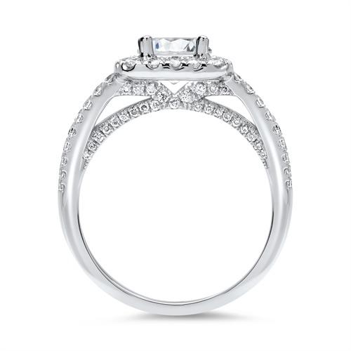 platinring mit diamant platinring mit einem diamant. Black Bedroom Furniture Sets. Home Design Ideas