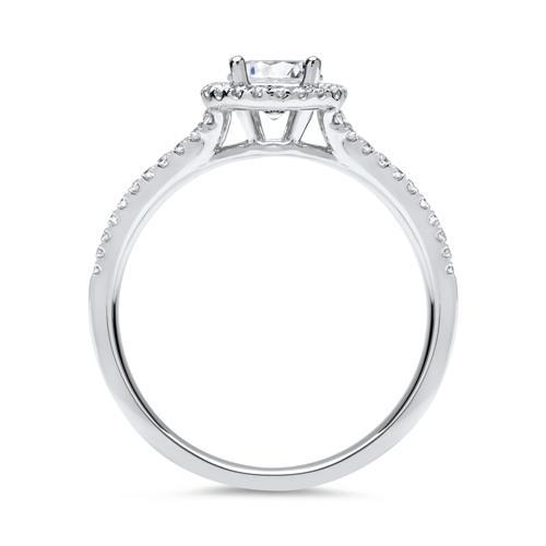 Ring 585er Weißgold mit Brillanten