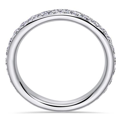 18 Karat Weißgold Ring mit 30 Diamanten