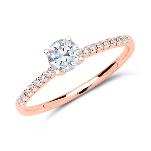 Diamant Ring 585er Roségold