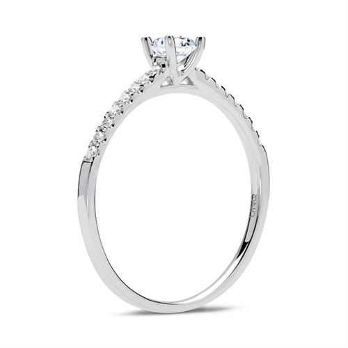 Diamant Ring 750er Weißgold