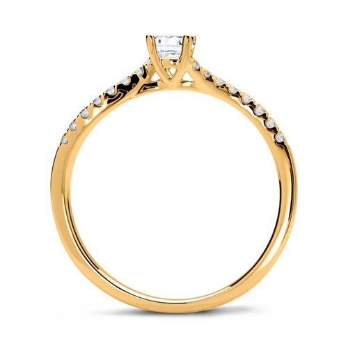 Ring 585er Gold mit Brillanten