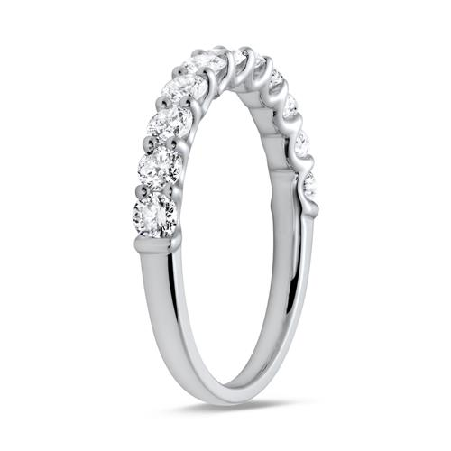 Half Eternity Ring 950er Platin Diamant