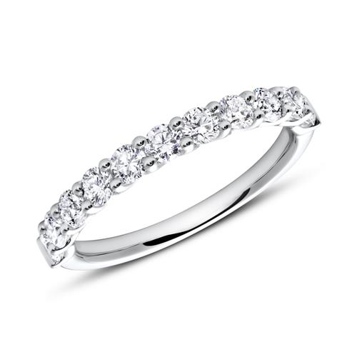 Eternity Ring 585er Weißgold Diamant