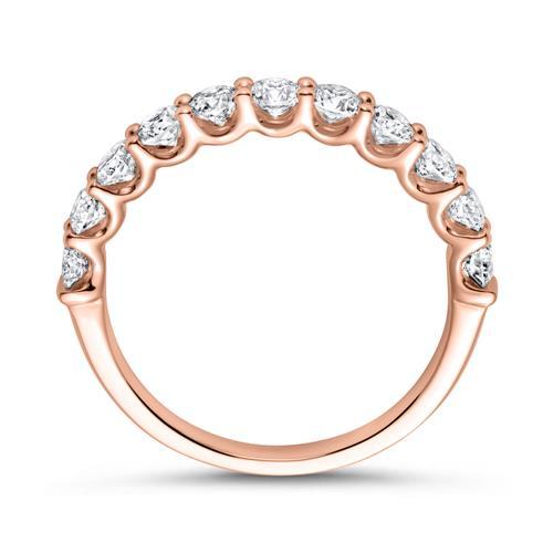 750er Roségold Memoire Ring Diamant