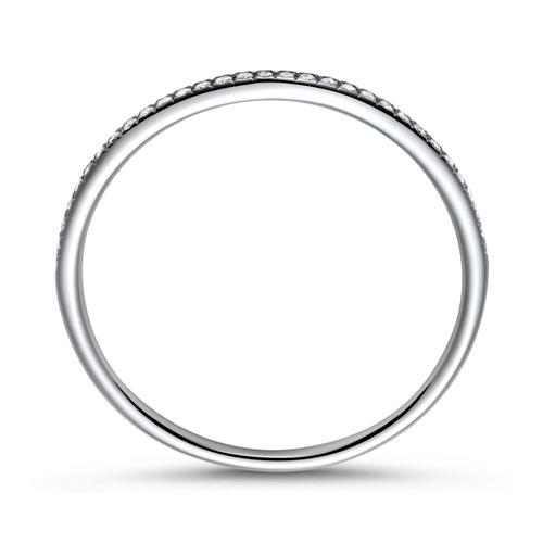 Memoire Ring 950er Platin Diamanten