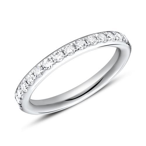 Ring Eternity 750er Weißgold 16 Diamanten