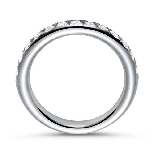 Eternity Ring 950er Platin 13 Brillanten