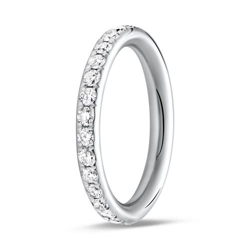 Eternity Ring 585er Weißgold 30 Brillanten