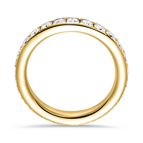 Eternity Ring 750er Gold 25 Diamanten