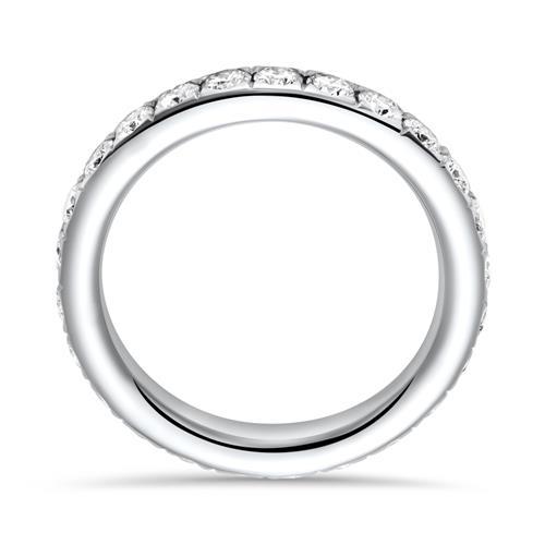 Eternity Ring 750er Weißgold 25 Diamanten