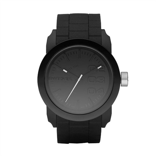 Unisex Uhr Double Down Kautschuk Armband