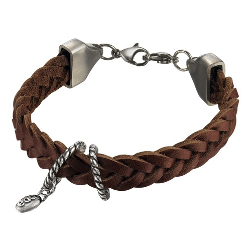 EDC Armband Vintage Look - Tobacco Brown EEBR10123A180