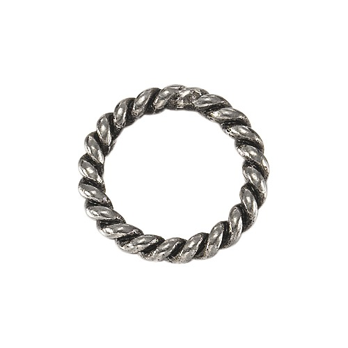 EDC Steel Twisted Ring - Small EECH10068A000