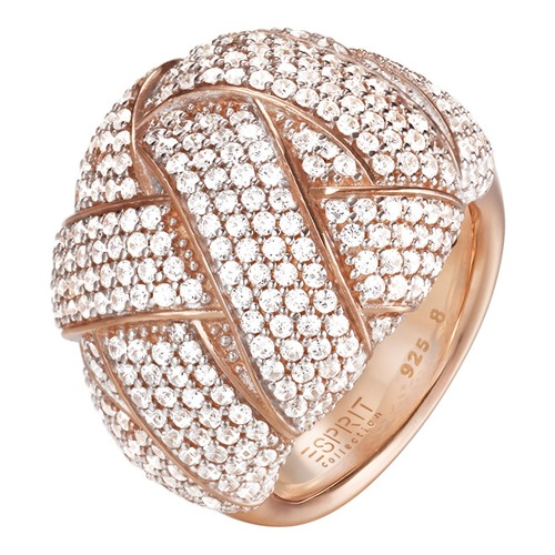 Esprit Collection Ring Lilaia Rose ELRG92291B170