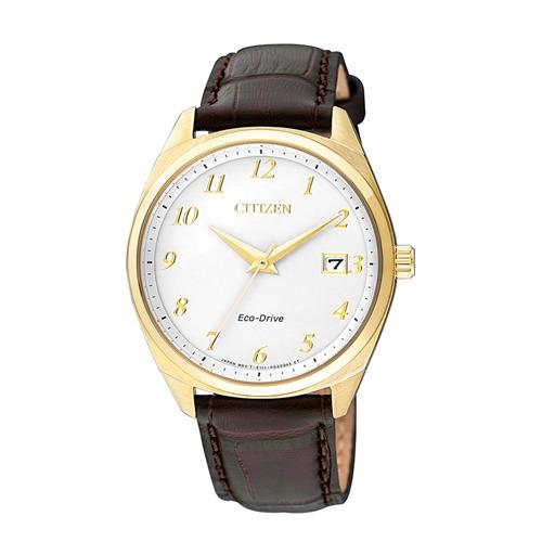 Uhr für Damen Lederarmband braun
