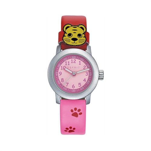 Armbanduhr Tatzen Pink für Kinder