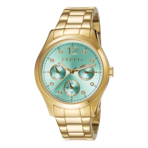 Esprit Uhr Es-Tracy Multi Gold Mint ES106702008