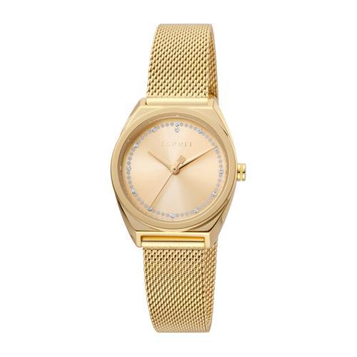 Set Slice Dot Uhr für Damen und Armband vergoldet