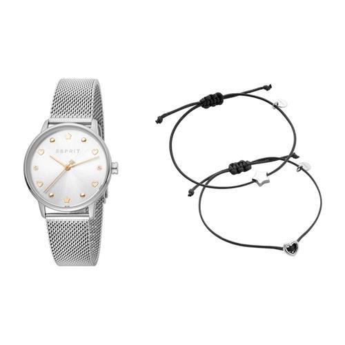 Uhren - Set aus Uhr und zwei Armbändern für Damen  - Onlineshop The Jeweller