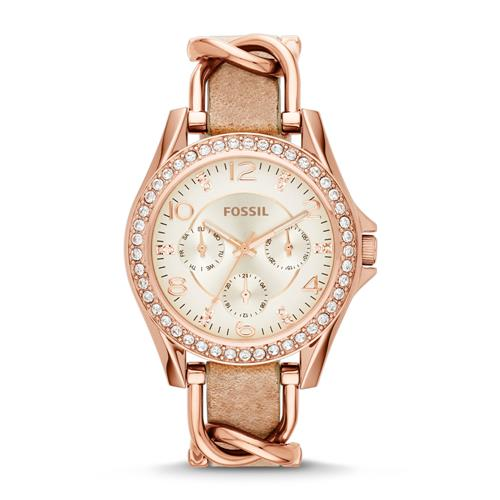 Watch For Women In Pink With Zirconia