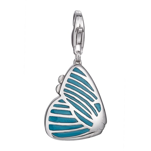 Charm turquoise butterfly