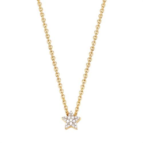 Silberkette Petite Star Gold