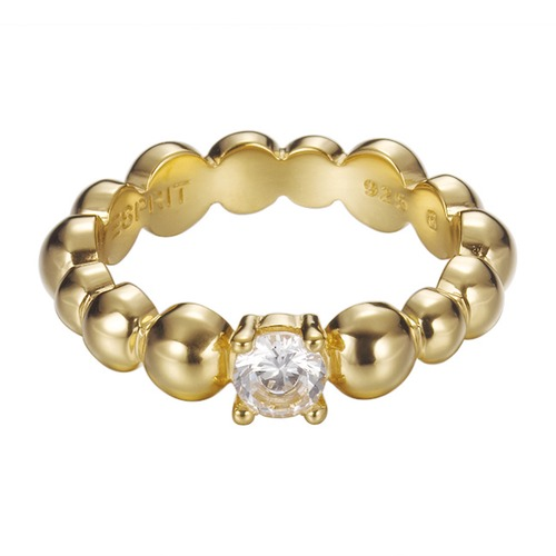 Ring Solo Pellet Gold