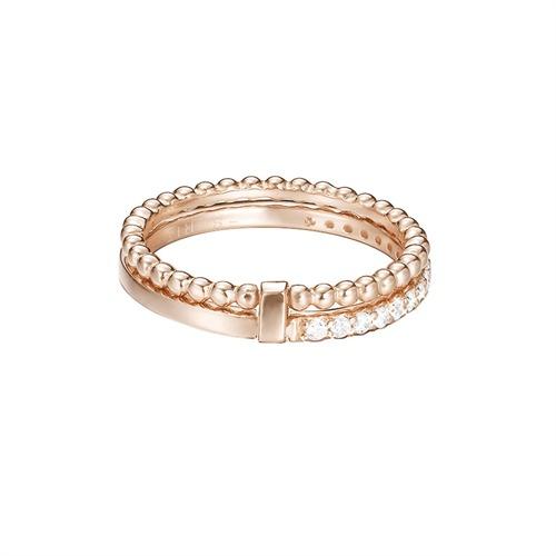 Ringe Echtsilber in Rosé